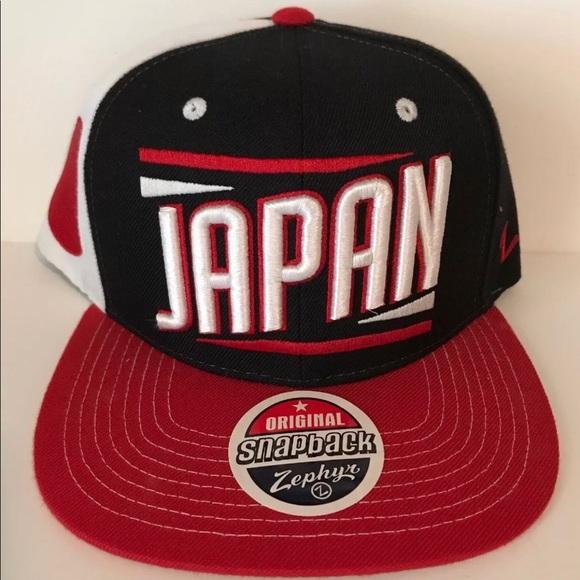 8d87c68967c63 Zephyr SnapBack Japan World Baseball Team Cap